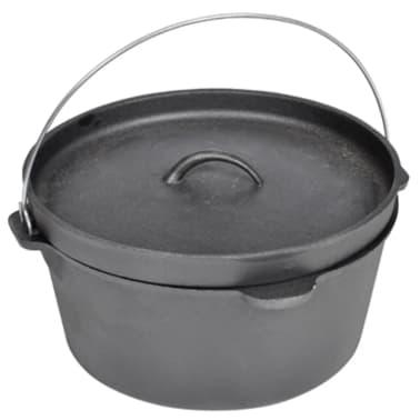 Casserole de cuisson en fonte type four hollandais[2/5]