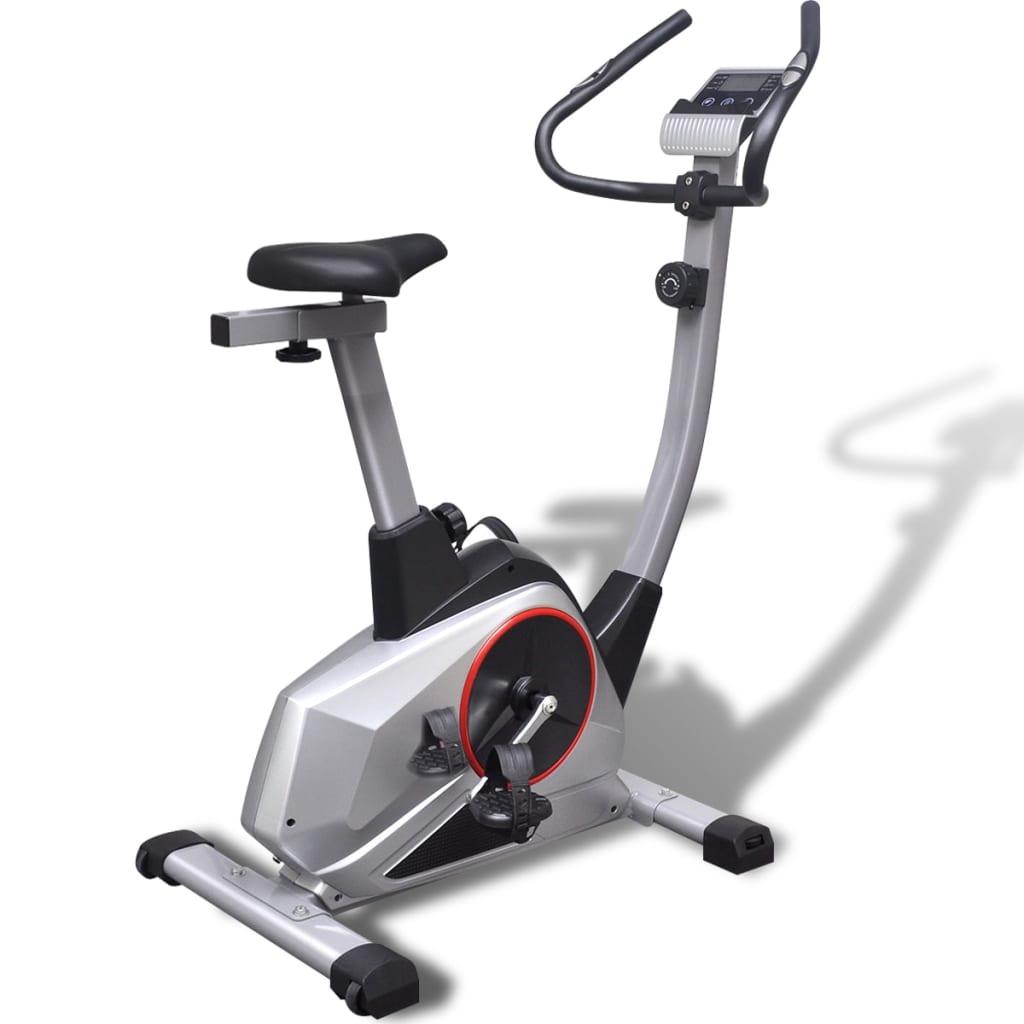 vidaXL Bicicletă fitness XL magnetică, cu masă de rotație 10 kg vidaxl.ro