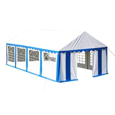 vidaXL Party Tent 4 x 8 m Blue[1/7]