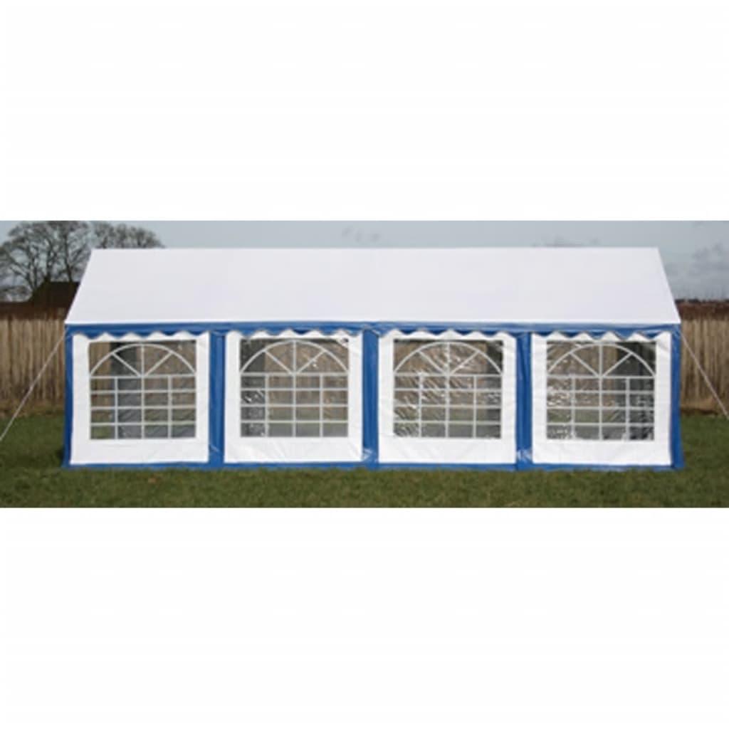 vidaXL Partytent 4 x 8 m PVC blauw