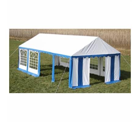 vidaXL Party Tent 4 x 8 m Blue[3/7]