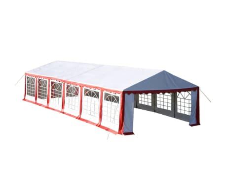 acheter vidaxl chapiteau 12 x 6 m rouge pas cher. Black Bedroom Furniture Sets. Home Design Ideas