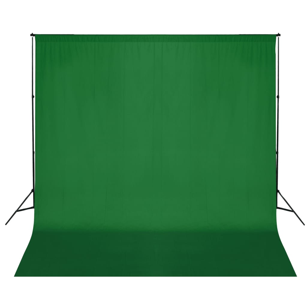 Tausta tugisüsteem, 600 x 300 cm, roheline
