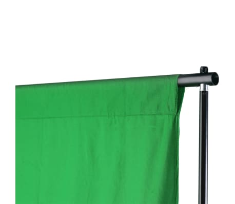 vidaXL Achtergrondondersteuningssysteem 600x300 cm groen[7/8]