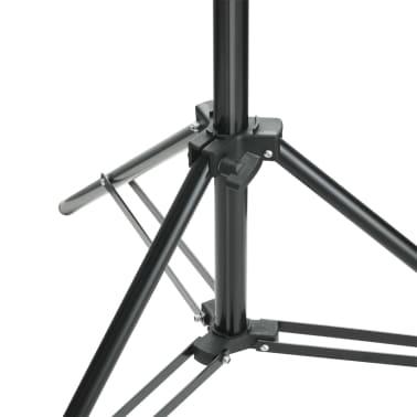 vidaXL Fotohintergrund-System 600 x 300 cm Grün[7/8]