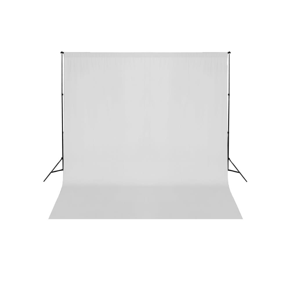 Systém podpěry a pozadí 600 x 300 cm bílé