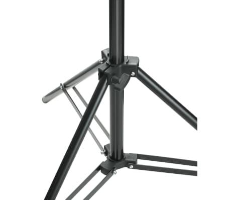 vidaXL Système de support de toile de fond 600 x 300 cm Blanc[8/8]
