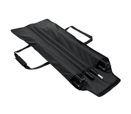 vidaXL Système de support de toile de fond 300 x 300 cm Noir[3/4]
