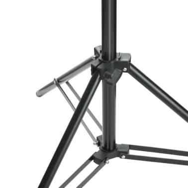 vidaXL Système de support de toile de fond 500 x 300 cm Vert[6/7]