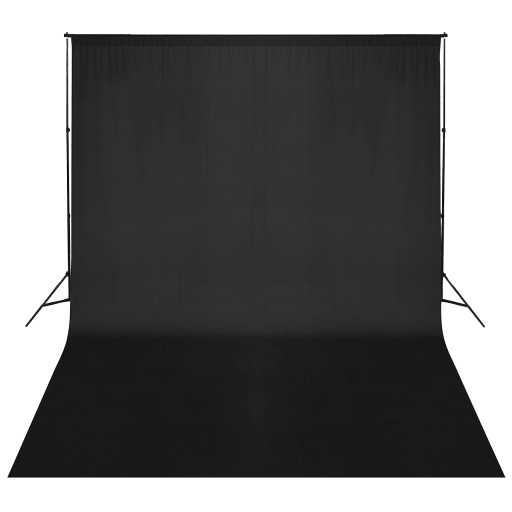 Systém podpěry a pozadí 500 x 300 cm černé