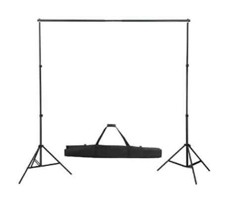 Kit Photo 3 Softbox Fond vert et Réflecteur[3/8]