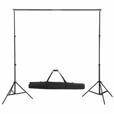 Kit studio fond noir & éclairage[3/8]