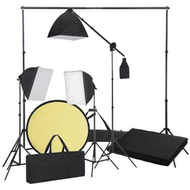 Kit studio fond noir & éclairage[6/8]