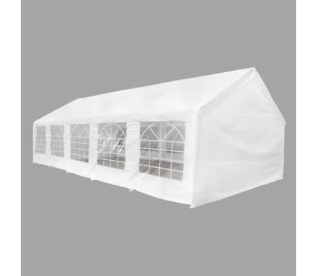 vidaXL Party Tent 32' x 16' White[2/6]