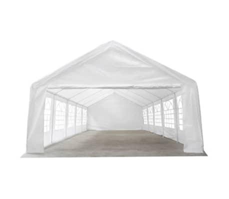 vidaXL Party Tent 32' x 16' White[3/6]