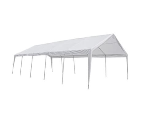 vidaXL Party Tent 32' x 16' White[4/6]