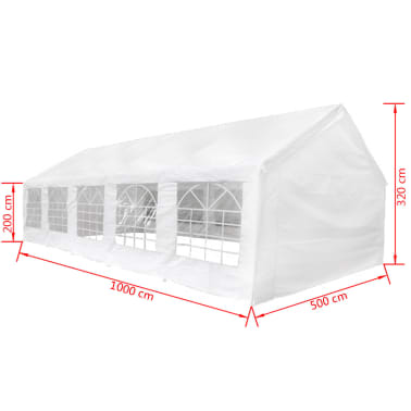 vidaXL Party Tent 32