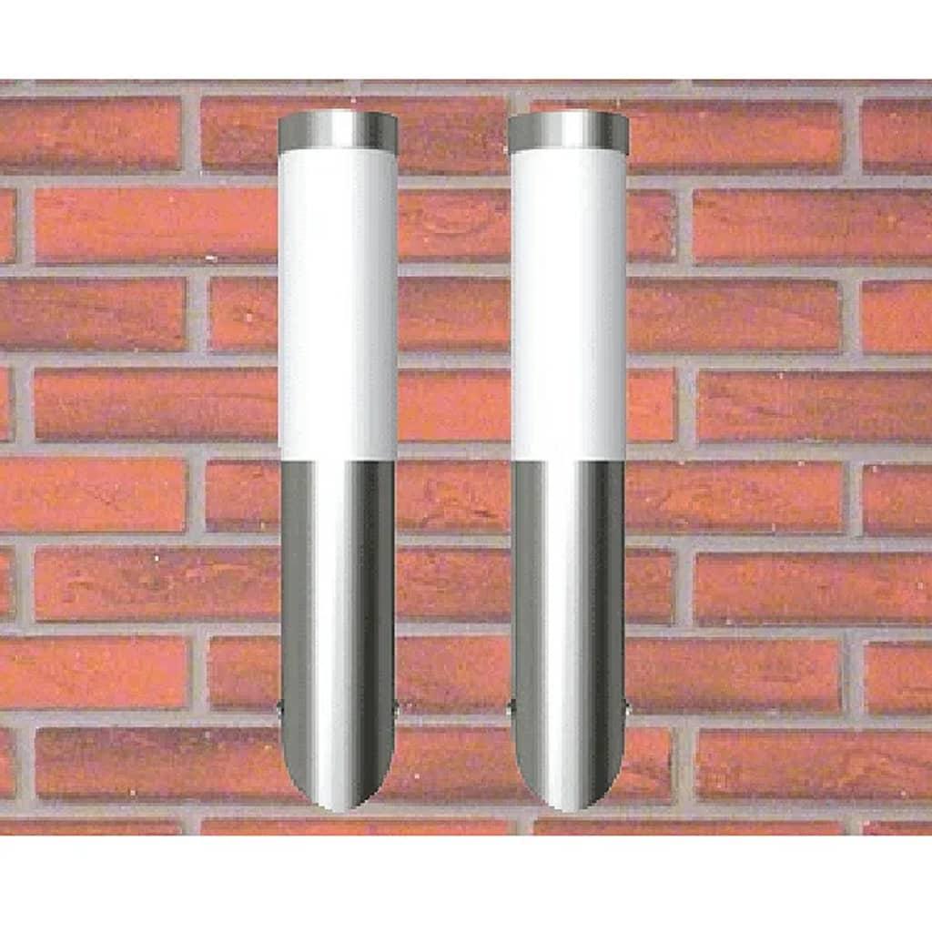 vidaXL Vegglamper 2stk 6 x 36 cm