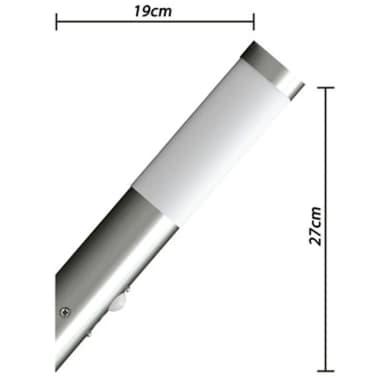 Buitenlamp RVS Enego met sensor (2 stuks)[4/8]