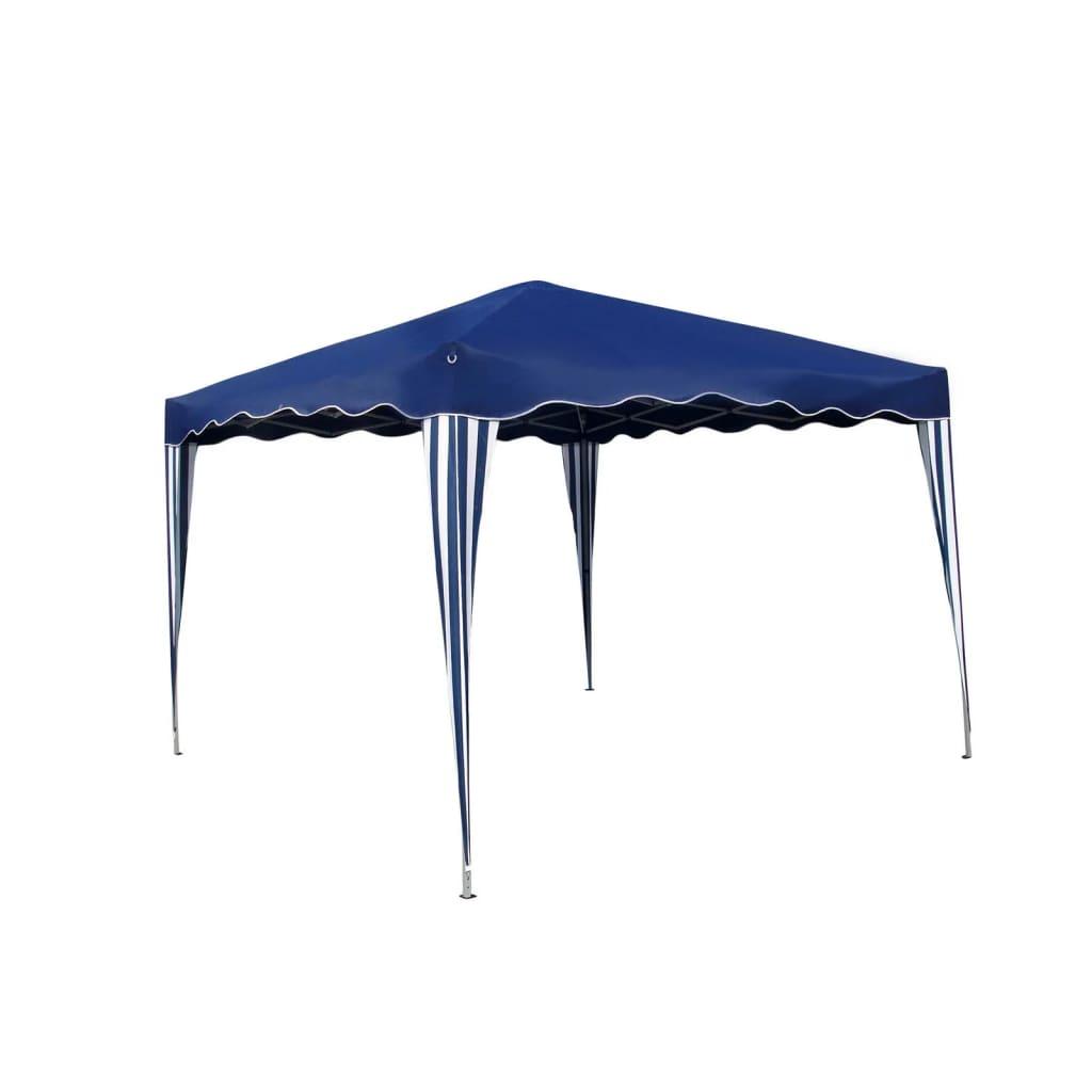 vidaXL Modrý skládací party stan 3 x 3 m