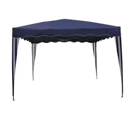Shop vidaXL foldbar pavillon blå 3 x 3 m | vidaXL