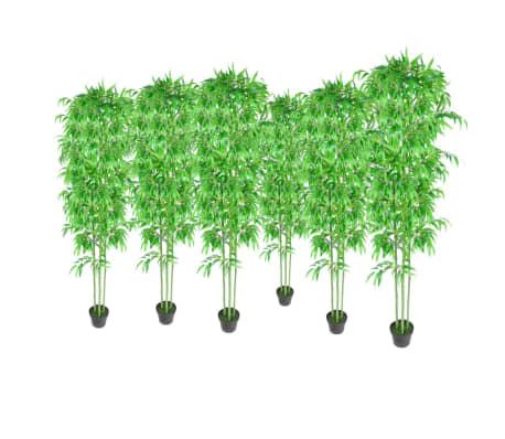 Acheter lot de 6 bambous artificiels 190cm pas cher for Acheter bambou artificiel