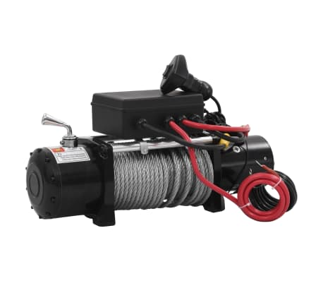 vidaXL Electric Winch 12 V 13000 lbs[1/5]