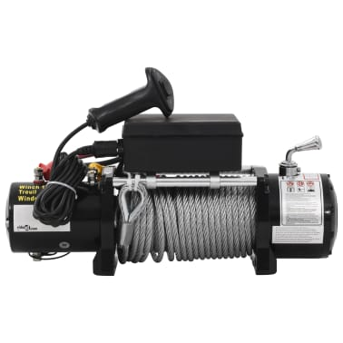 vidaXL Electric Winch 12 V 13000 lbs[2/5]