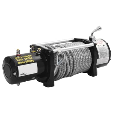 vidaXL Electric Winch 12 V 13000 lbs[4/5]