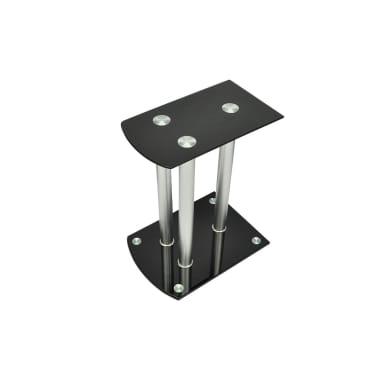 2x Luxus Lautsprecherständer Glas Lautsprecher[2/6]