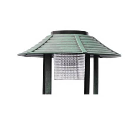 vidaXL Bird Bath/ Feeder with Solar Light[2/6]