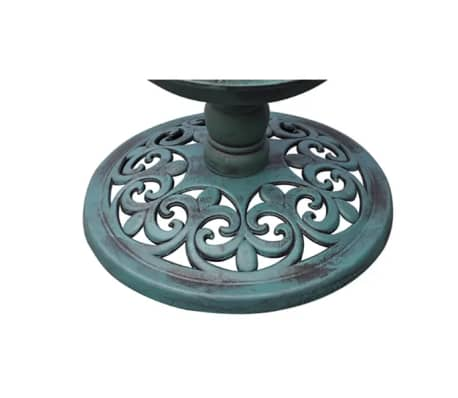 vidaXL Bird Bath/ Feeder with Solar Light[4/6]