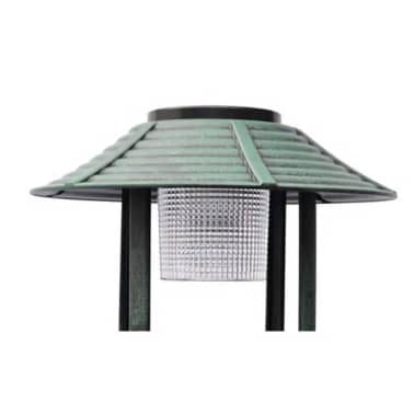 Bird Bath/ Feeder with Solar Light[2/6]