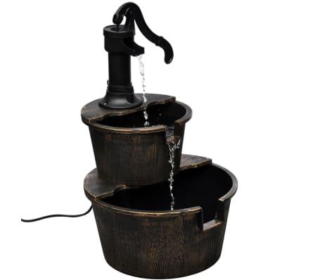vidaXL Kaskadenbrunnen Handwasserpumpe-Design[1/5]