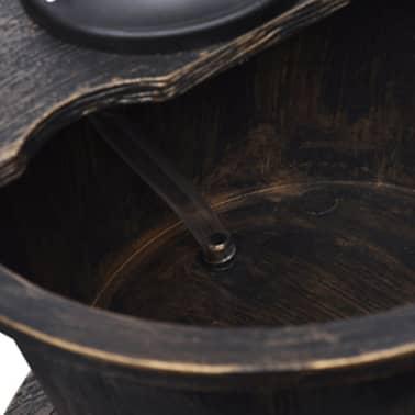 vidaXL Kaskadenbrunnen Handwasserpumpe-Design[5/5]