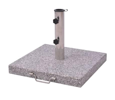 acheter pied de parasol en granit poli 30kg pas cher. Black Bedroom Furniture Sets. Home Design Ideas