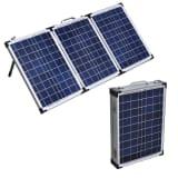 Aurinkopaneelin ohjausyksikkö 60W + aurinkopaneelin akku 12V