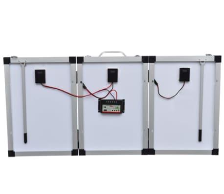Aurinkopaneelin ohjausyksikkö 60W + aurinkopaneelin akku 12V[3/6]