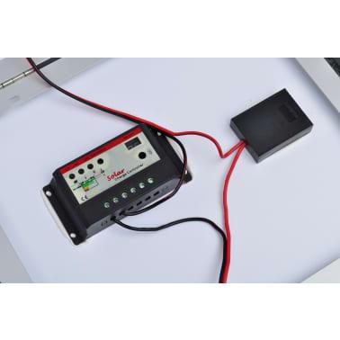 Aurinkopaneelin ohjausyksikkö 60W + aurinkopaneelin akku 12V[5/6]