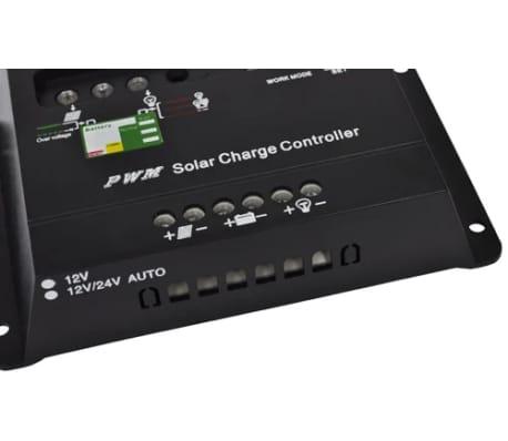 Régulateur de charge pour panenau solaire 12V et 24V 20A[3/3]