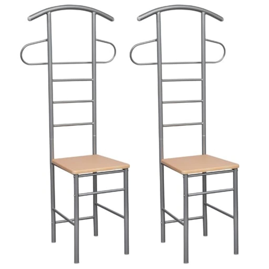 Němý sluha se židlí - 2ks