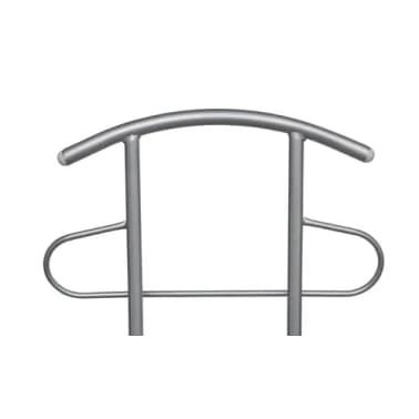 Chaise valet de nuit bois et métal design unique (lot de 2) | vidaXL.ch