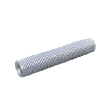 vidaXL Wired Mesh Fence Square 1 x 25 m Silver[2/5]