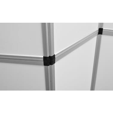 Presentatiewand kunststof 240x200cm wit[5/5]