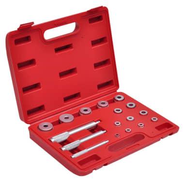 17 piezas Set de controladores de buje (métrico)[1/4]