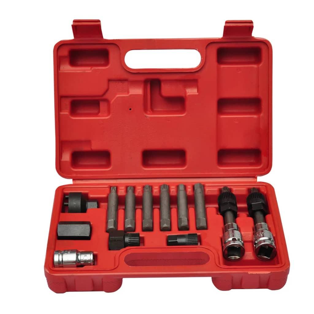 Set unelte auto pentru alternator imagine vidaxl.ro