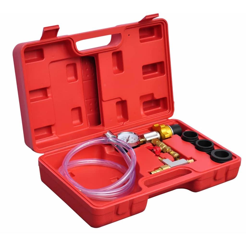 Kit pentru răcirea radiatorului, evacuare vid și reumplere, 6 piese poza 2021 vidaXL