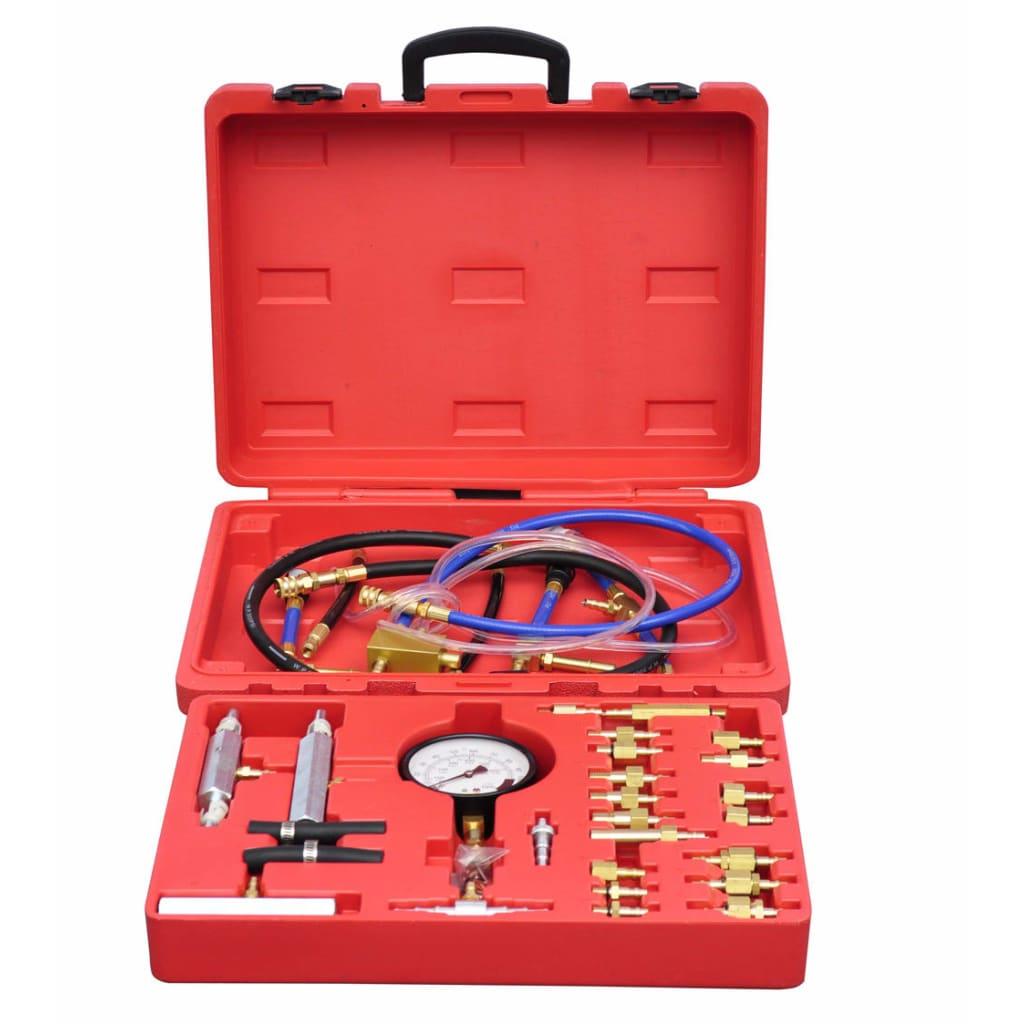 Tester vstřikovačů set na měření tlaku vstřikování 0-140 psi/0-10 bar