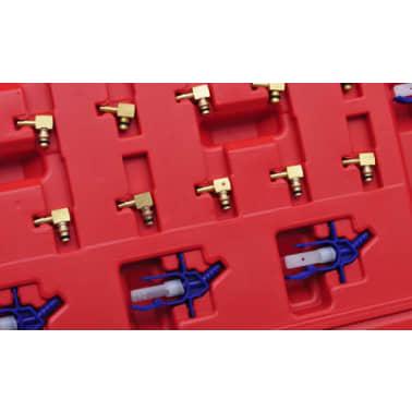 Medidor de flujo para diesel de carril común con set de adaptador[3/5]