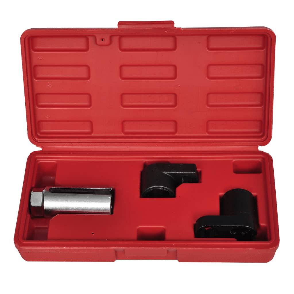vidaXL 3-delige doppenset voor zuurstofsensor & vacuumschakelaar